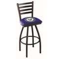 "Military Logo Vertical-Backed Stool -  30""H, 50910"
