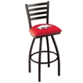 "College Logo Ladder-Backed Stool-30""H Seat, 57100"
