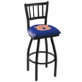 "College Logo Ladder-Backed Stool - 30""H Seat, 57102"