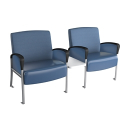Behavioral Health Two Seat Chair with Center Table, 26238