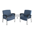 Behavioral Health Two Seat Chair with Corner Table, 26239
