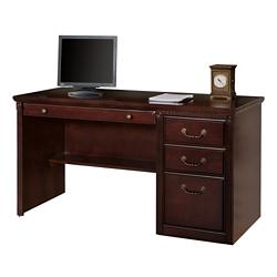 "Single Pedestal Desk - 56""W, 10150"