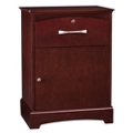 "One Drawer Bedside Cabinet with Lock - 23.25""W, 27105"