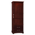 "Single Door Wardrobe with Two Drawers - 76.5""H, 27108"