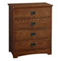 "Four Drawer Chest of Drawers - 29.25""W, 27117"