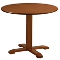 "Dining Table with Bullnose Edge - 36""DIA, 41916"