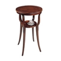 "Accent Table with Lower Shelf - 18""DIA, 53144"