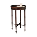 "Accent Table with Raised Sides - 16""DIA, 53146"