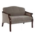 Fabric Upholstered Loveseat, 76335