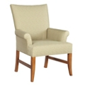 Fabric Guest Chair with Exposed Legs, 76350