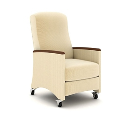 Weight Activated Recliner with Armcaps, 26455