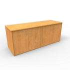 "Four Door Storage Credenza - 72""W x 24""D, 13657"
