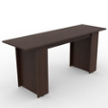 Ascend Rectangular Standing Height Meeting Table - 8 ft, 46043