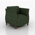 Classic Fabric Club Chair, 76202