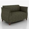 Classic Fabric Loveseat, 76203