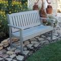"""Outdoor Vertical Slat Bench- 48""""W, 85404"""