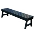 """Outdoor A Frame Synthetic Wood Bench 60""""W, 85856"""