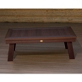 Outdoor Synthetic Wood Conversation Table, 87065