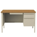 "Single Pedestal Desk - 48""W, 14148"