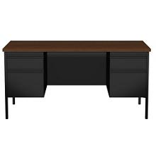"Double Pedestal Desk - 60""W, 14149"