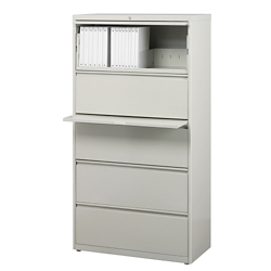 """30""""W Five Drawer Lateral File , 30597"""