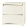 "Two Drawer Lateral File in Cloud Finish - 30""W, 30598"