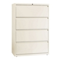 "Four Drawer Lateral File in Cloud Finish - 36""W, 30604"