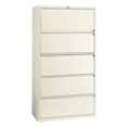 "Five Drawer Lateral File in Cloud Finish - 36""W, 30605"