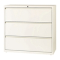 "Three Drawer Lateral File in Cloud Finish - 42""W, 30607"