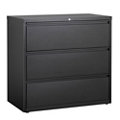 "42""W Three Drawer Steel Lateral File, 30883"