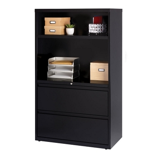 "Combo Shelving and Filing Unit - 36""W, 32823"