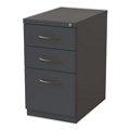 "22""D Three Drawer Locking Mobile Pedestal, 34440"