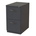 "28""D Two Drawer Locking Mobile Pedestal, 34441"
