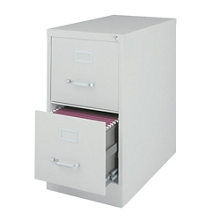 "25""D Two Drawer Letter Vertical File, 34497"