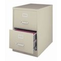 "26.5""D Two Drawer Legal Vertical File, 34502"