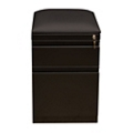"20""D Two Drawer Mobile Pedestal with Cushion , 34958"