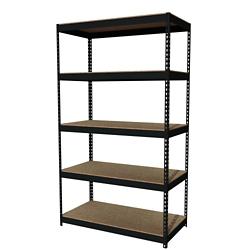 "Five Shelf Riveted Shelving - 48""W x 24""D x 84""H, 36256"