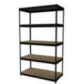 "Five Shelf Riveted Shelving - 48""W x 24""D x 84""H, 36256"