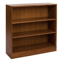 Hardwood Three Shelf Bookcase, 32893