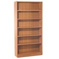 Hardwood Six Shelf Bookcase, 32896
