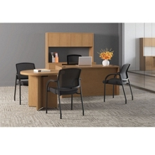 Private Office Suite with Guest Chairs, 13835