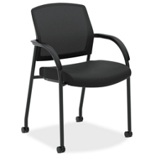Mesh Back Fabric Seat Multi-Purpose Guest Chair, 56603