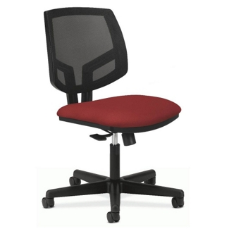 HON Volt Armless Mesh and Fabric Task Chair, 56969