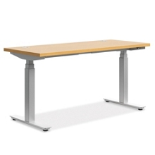 "Height Adjustable Table - 60""W x 24""D, 41932"