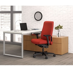 Storage L-Desk and Chair Set, 13826