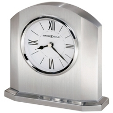 """Lincoln 5.75""""H Arched Tabletop Alarm Clock, 82277"""