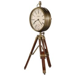 "Time Surveryor 15.25""H Tripod Mantel Clock, 90129"