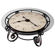 "Ravenna 40""Dia Coffee Table Floor Clock, 91129"