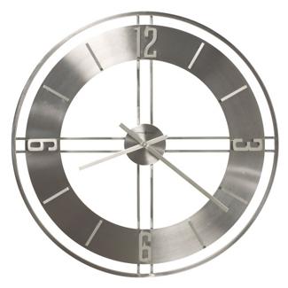 "30""Dia Wrought Iron Gallery Wall Clock, 91249"