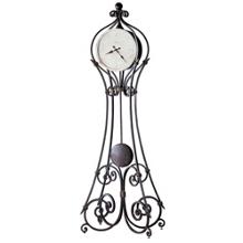 """Vercelli 84.5""""H Metal Floor Clock, 91261"""
